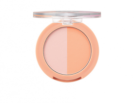 One Touch Duo Blusher 03 Apricot Dimple